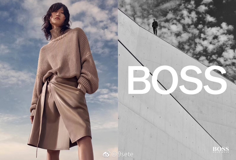 CHU WONG for BOSS 19SS Campaign